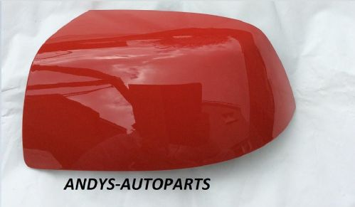 FORD FOCUS 04-07 WING MIRROR COVER LH OR RH SIDE IN RACE RED